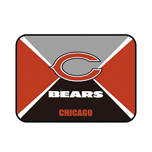 """Sensitive Gaming Mouse Pad Muti Color 10""""×8""""&31.5""""11.8"""" Non-Slip Rubber Base Rectangle Mouse Mat for Computer Desk Laptop Office (Chicago Bears, 10""""×8"""")"""
