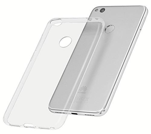 mumbi Hülle kompatibel mit Huawei P8 Lite 2017 Handy Case Handyhülle dünn, transparent