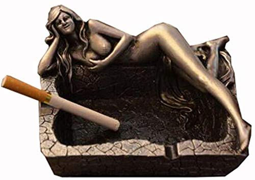 YHGTLL Beauty Ashtray Naked Beauty Ashtray for Home Decor Or Bar Decorations-As Fantasy Gifts for Men Or Smokers