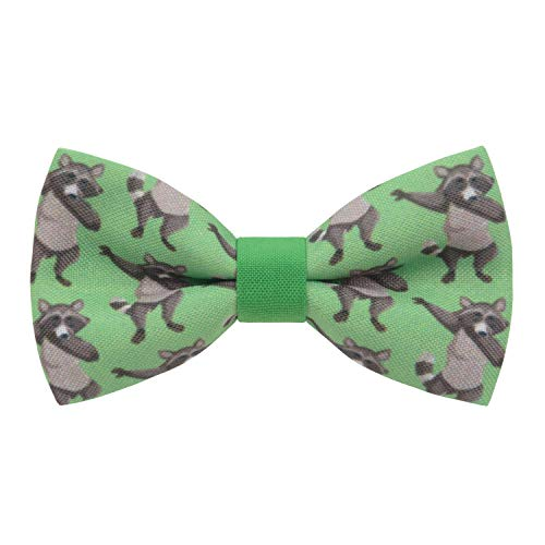 Bow Tie House Pajaritas unisex con forma de animal salvaje en diferentes patrones, Verde - Medium