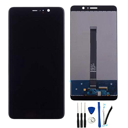 SOMEFUN LCD Screen Replacement Compatible with Huawei Mate9 Mate 9 MT9 MHA-L09 MHA-L29 5.9 LCD Display Digitizer Touch Screen Assembly (Black no Frame)