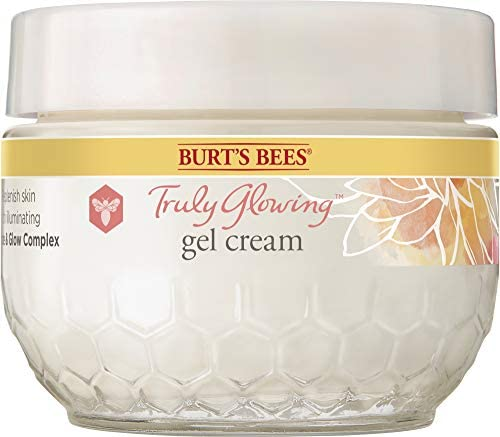 Burt s Bees Truly Glowing Replenishing Gel Cream Moisturizer with Hydrate and Glow Complex for product image