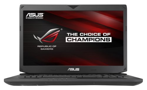 Compare ASUS G750JZ (-T4110H) vs other laptops