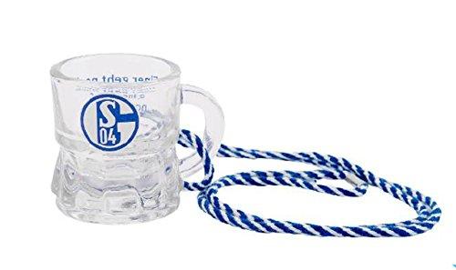 FC Schalke 04 Schnapsglas mit Kordel
