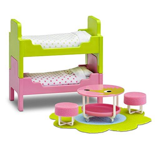 Lundby 60.2097.00 - Kinderzimmer, Minipuppen mit Zubehör
