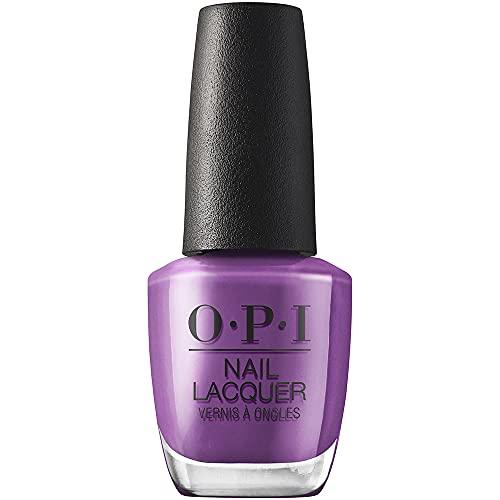 OPI Downtown LA, Nail Lacquer Esmalte duración hasta 8 días, Violet Visionary, 15 ml