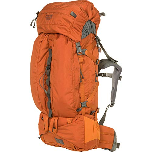 MYSTERY RANCH Glacier Backpack - Signature Design for Extended Trips, Adobe, 70L