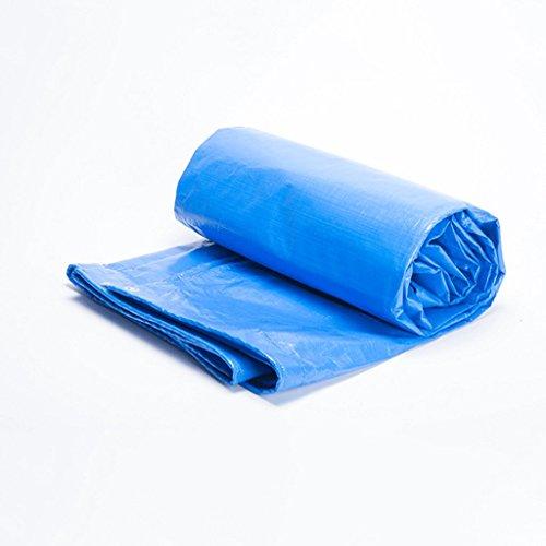 ZRH Espesar Polietileno PE Lona Doble Cara Lona Impermeable Al Aire Libre Lona Protectora Cubierta De Camión Tela Tela Color, Espesor 0.4mm, -180 G / M2, 11 Tamaños (Size : 3 x 3m)