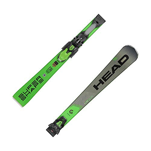 Head SUPERSHAPE I Magnum SW MFPR Ski 2020 INKL. PRD 12 GW Brake 85 Ski Bindung Matte Black/Flash Yellow, 170