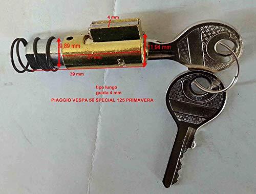 SERRATURA QUADRO CHIAVE sterzo VESPA 50/125 special primavera PX NB: serratura senza molletta va usata ancora la vostra