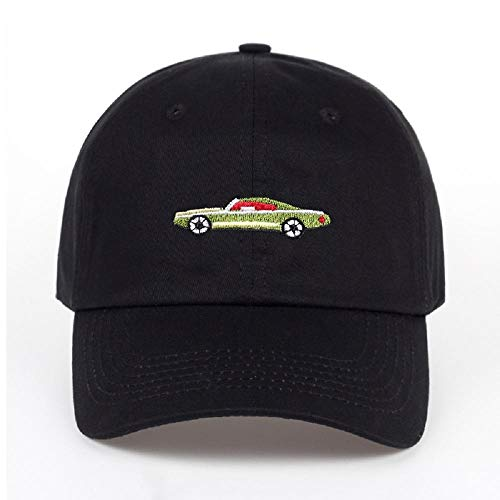 Lvntsx baseballpet papa hoed katoen solide baseballpet vrouwen mannen auto borduursel paal muts vrachtwagen hoed verstelbaar