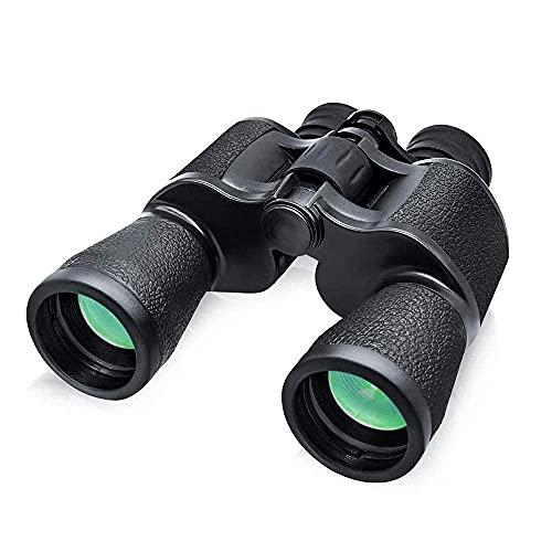 YANGHAO-Telescopio de alta definición y alta poten Binoculares de alta potencia, binoculares para adultos Compact HD Professional / Binoculares impermeables con visión nocturna clara y débil para aves