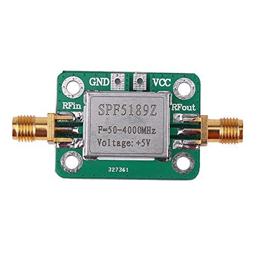 Zerone RF Amplifier, Low Noise LNA 50 to 4000MHz SPF5189Z RF Amplifier for Amplifying FM HF VHF UHF Radio Signal