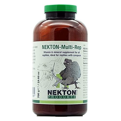 Nekton Multi-Rep, 1 Paquete (1 x 700 g) suplemento de vitaminas y minerales para Reptiles