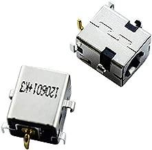 DREZUR New Laptop DC Power Jack Connector Socket for Asus K53E K52F K52JB K53S K53SD K53SV X54C X54L X54LY X54H X54HR X54HY X53E X53U K53SC K53SJ K53TK K54H K54HR K54HY K54L (Pack of 2)