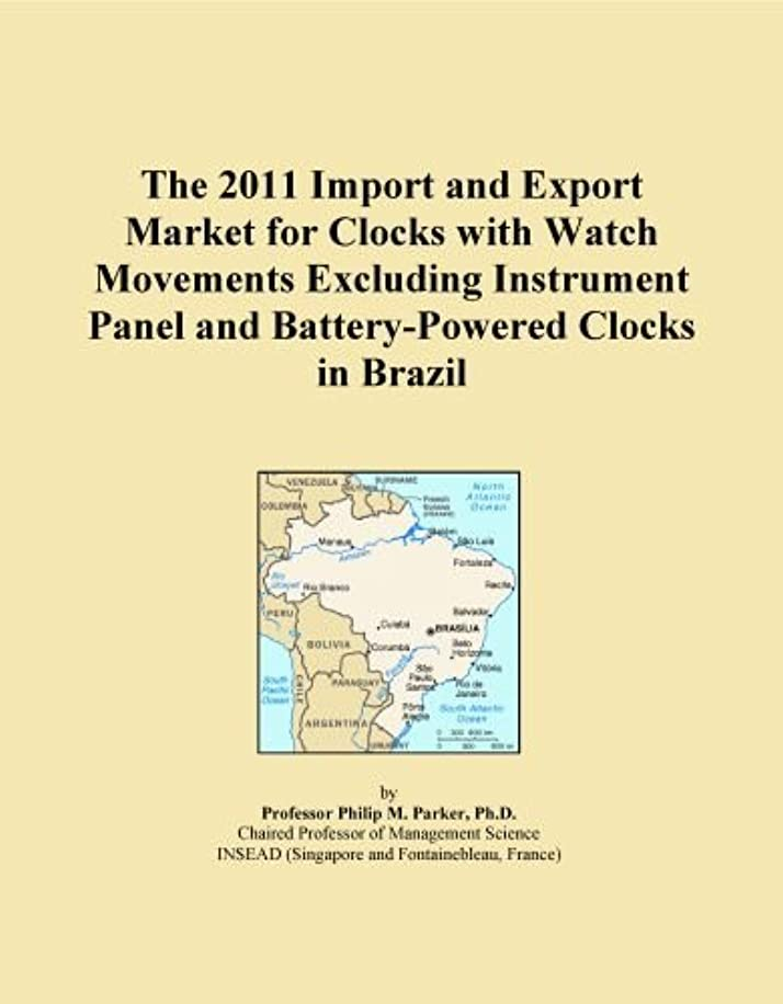 The 2011 Import and Export Market for Clocks with Watch Movements Excluding Instrument Panel and Battery-Powered Clocks in Brazil