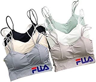 ELEG & STILANCE Fashions Womens Tank Tops Bustier Bra Vest Crop Top Bralette Blouse Top for Padded Women/Girls Free Size (...