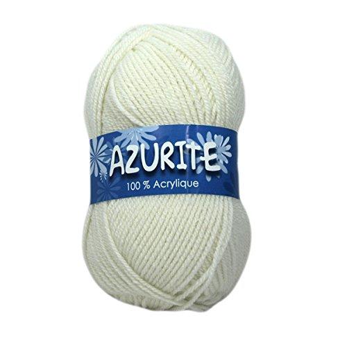 Distrifil - 10 pelotes à Tricoter Azurite 0211 Pas Cher 100% Acrylique - 0211