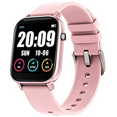 GBD Smart Watch for Women Men Him Her, IP67 Waterproof Fitness Tracker with Heart Rate Blood Pressure Oxygen Monitor,Pedometer, Sport Activity Tracker for iOS Android Phone, Easter Gifts for Women Men