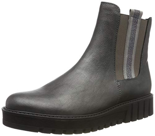 Gabor Damen Fashion Stiefeletten, Grau (Grey 29), 40.5 EU