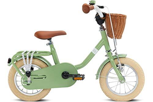 Puky Steel Classic 12'' Retro Kinder Fahrrad grÃŒn