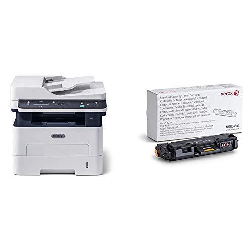 Xerox B205NI Monochrome Multifunction Printer & B205/ B210/ B215 Black Standard Capacity Toner Cartridge (1,500 Pages) - 106R04346