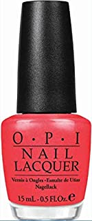 O.P.I Nail Lacquer, I Eat Mainly Lobster, 15ml