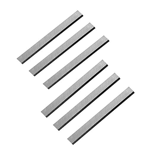 JTEX 6-1/8 inch Jointer Knives for Craftsman 21705 922995 113-206931 113-232200 113-206932 113-206891 Jointer - 2 Set of 6 Pack Blades