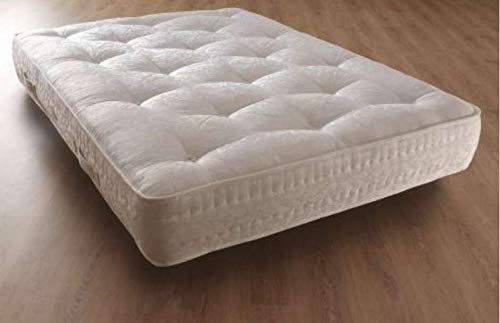 Comfy Living LUXURY DAMASK ORTHO POCKET 3000 SPRUNG MATTRESS 3FT SINGLE, 4FT6 DOUBLE, 5FT KING SIZE (3ft Single)