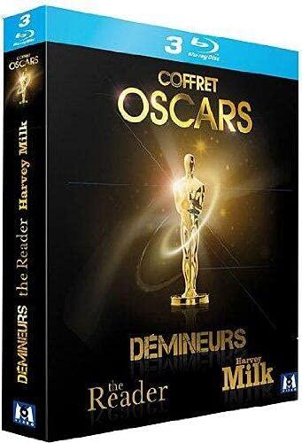 Coffret oscars 2010 : the reader ; harvey milk ; démineurs [Blu-ray] [FR Import]