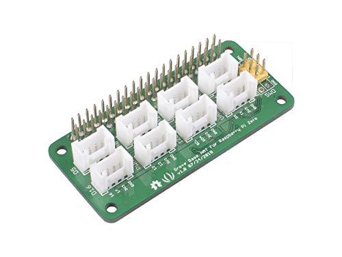 Seeed Studio Grove Base Hat Build-in MCU STM32 12-bit ADC with Analog/PWM/Digital/Analog/I2C/UART/SWD Grove Port Support Raspberry 2/3 B/B+ Zero 3.3V