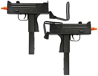 BBTac Dual Spring M42F Spring SMGs 200 FPS Spring Airsoft Gun (2-Pack)
