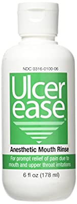 Ulcer Ease Anesthetic Mouth