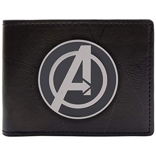 Cartera de Marvel Avengers Assemble Negro