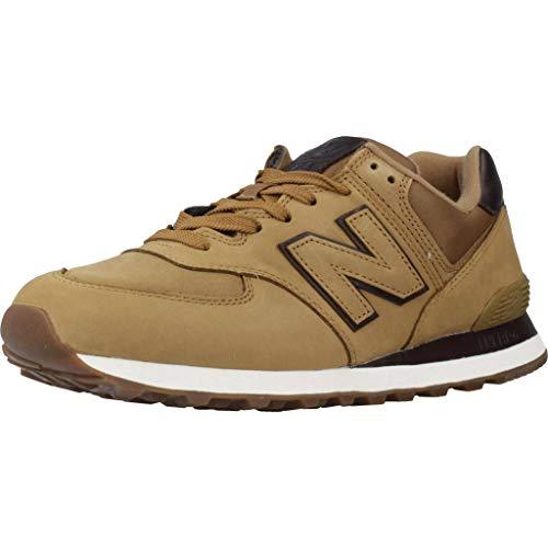 New Balance 574 Nbh Scarpe Sportive Sneaker Scarpetta da Ginnastica Uomo Tan Morbide E Leggere Running Palestra, 42.5, Cammello