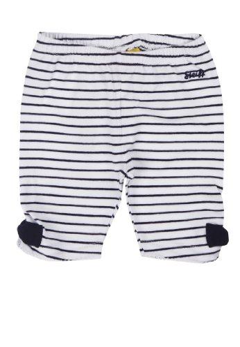 Steiff - Leggings 6433116 - Leggings Bébé fille - Bleu (Steiff marine 3032) - FR : 3 mois (Taille fabricant : 62)