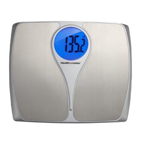 Health o Meter HDM173DQ-99 - Báscula de Acero Inoxidable con Control de Peso