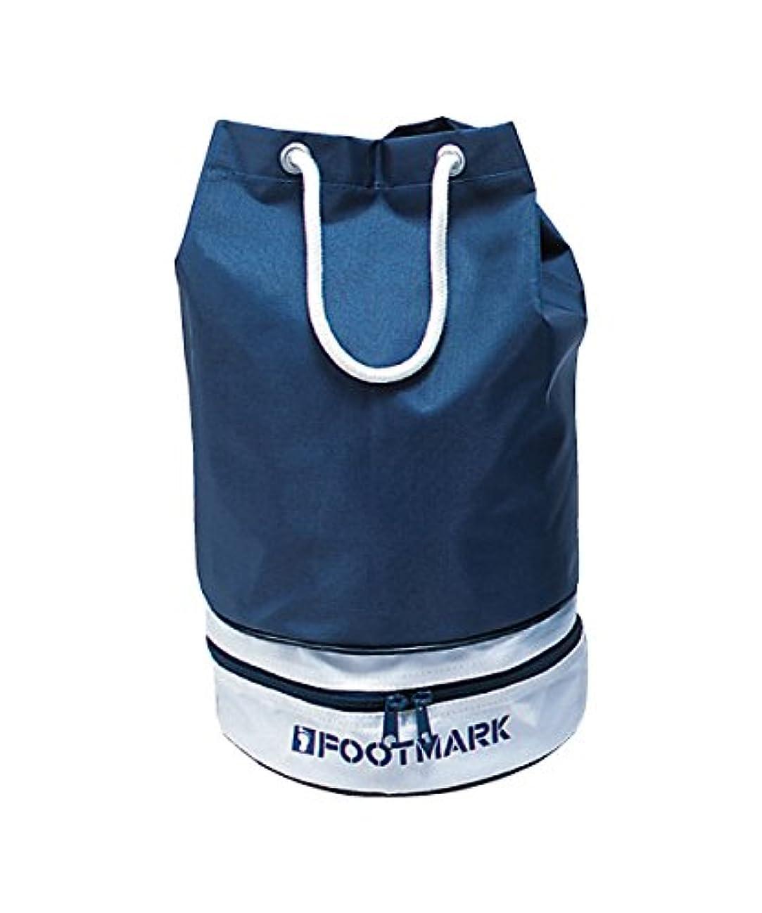 ミシン誤って埋めるFOOTMARK(フットマーク) 水泳用 プールバッグ ニューツインバッグ 101333