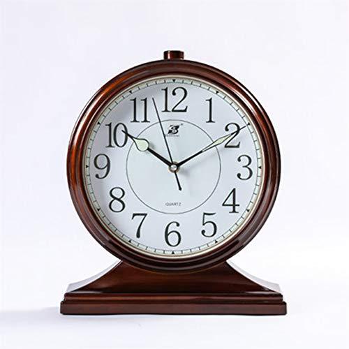Equipment 10 Pulgadas con Reloj de péndulo Luminoso Cuarzo Sala de Estar Retro Home Reloj Adornos de Reloj Europeos