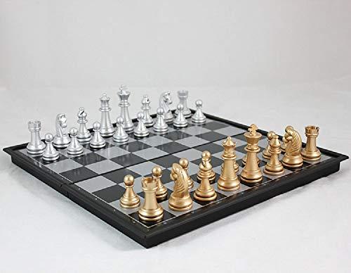 【32×32cm】 折りたたみ 本格サイズ チェス セット マグネット 式