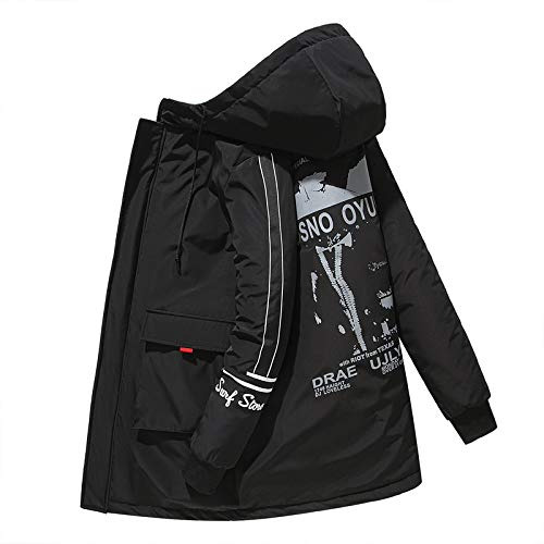Heren Winter Plus Size Jack, Dik Warm Casual Jas Winterjas, Geschikt voor Sterke Mannen, De Beste Winter Jas