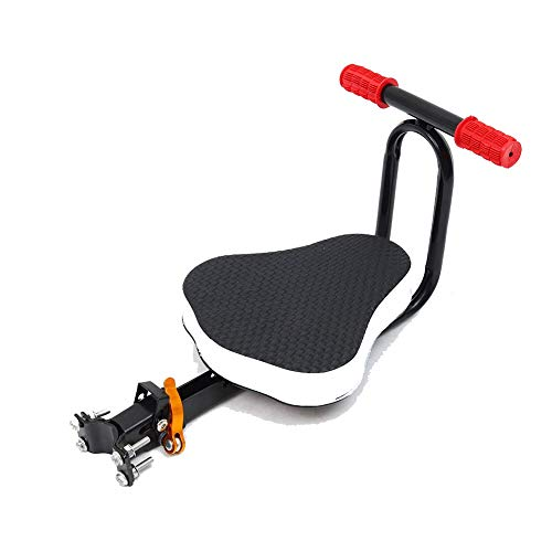 Sale!! Child Bike Seat Front Mounted Child Bike Seat ,Detachable Bicycle Safe-T-Seat ,Backrest Wit...