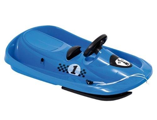 HAMAX SNO Formel - Trineo Infantil (95 x 53 x 15 cm) Azul Azul Talla:95x53x15