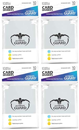 40 Ultimate Guard Trading Card Dividers (4 10ct...