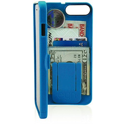 EYN Products Wallet Case for Apple iPhone 7 Plus - Blue