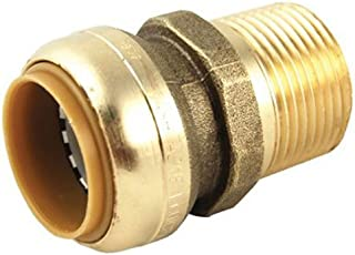 SharkBite U140LFA Plumbing Fitting, 1-Inch by 1-Inch, Brass