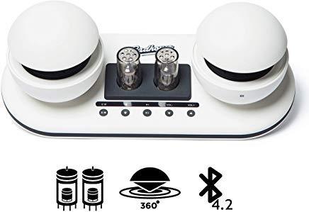 Gadhouse オリバー 真空管Bluetoothスピーカー最新式のレトロデザイン(WHITE)