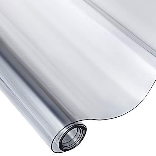 HODOY Copertura Protettiva Trasparente per Tavolo, PVC Tovaglia Plastificata (1170 * 2440 * 2mm)