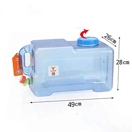 Lebensmittelqualität Auto Wasserbehälter Fass Tragbarer Wasserspeicher Eimer Picknick Camping Wassertank Mit Griff-25L