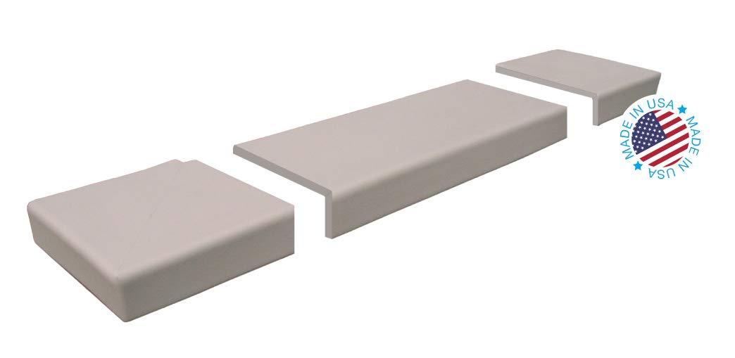 KidKusion Soft Seat Hearth Pad, Taupe, Long